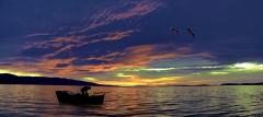 Gölyazı da akşam