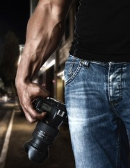 Forearm and Nikon